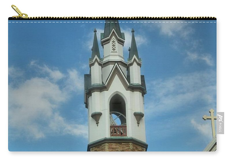 St. Mark's Episcopal Church Grand Rapids Carry-all Pouch featuring the photograph St. Mark's Episcopal Church Grand Rapids by Dan Sproul