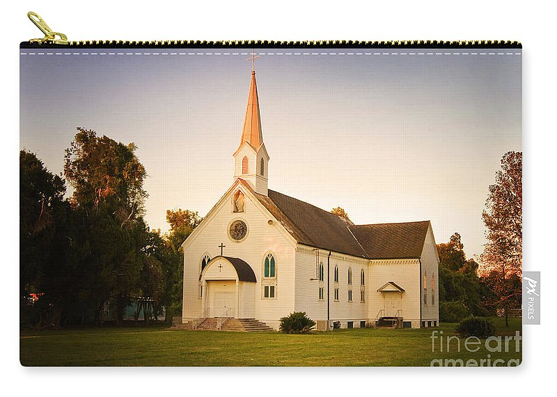 Convent Carry-all Pouch featuring the photograph St. Mary's Chapel by Scott Pellegrin