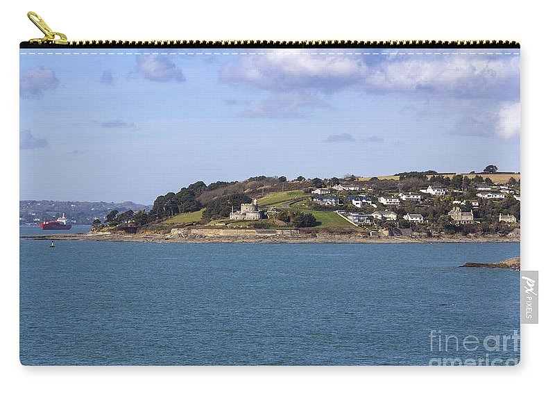 Landscape Carry-all Pouch featuring the photograph St Mawes Castle by Brian Roscorla
