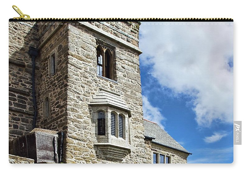 St Michaels Mount Carry-all Pouch featuring the photograph St Michael's Mount 2 by Susie Peek