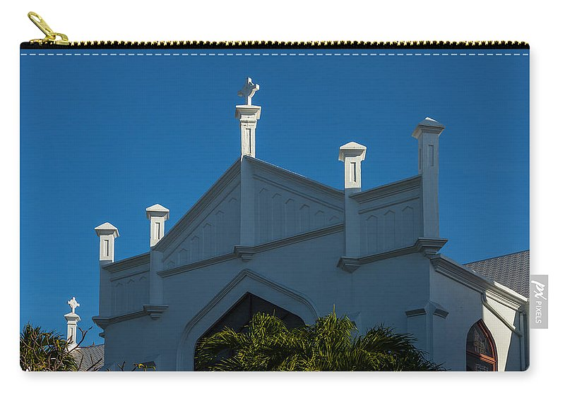 1919 Carry-all Pouch featuring the photograph St Paul's In Key West by Ed Gleichman
