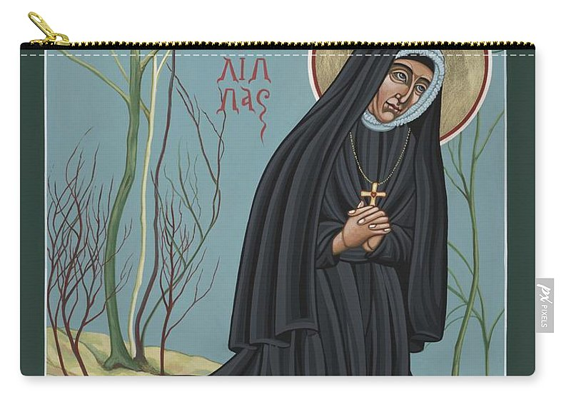 St. Philippine Duchesne Carry-all Pouch featuring the painting St. Philippine Duchesne 259 by William Hart McNichols