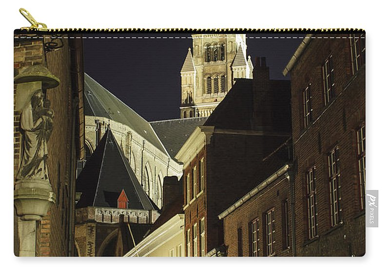 3scape Carry-all Pouch featuring the photograph St Saviour Cathedral by Adam Romanowicz