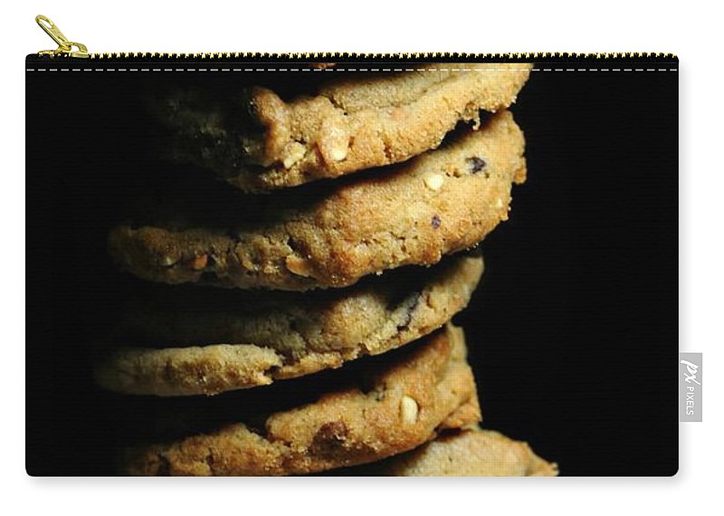 Cookies Carry-all Pouch featuring the photograph Stack Of Cookies by Diana Angstadt