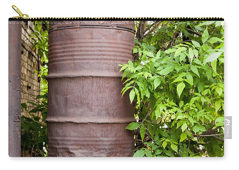 Barrel Carry-all Pouch featuring the photograph Stacked Up by Fran Riley