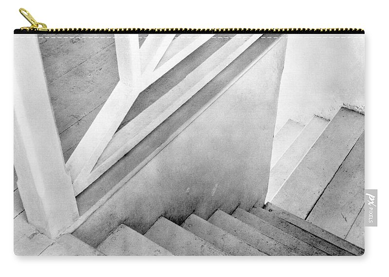 Staircase Carry-all Pouch featuring the photograph Staircase, Mexico City, C.1924 by Tina Modotti