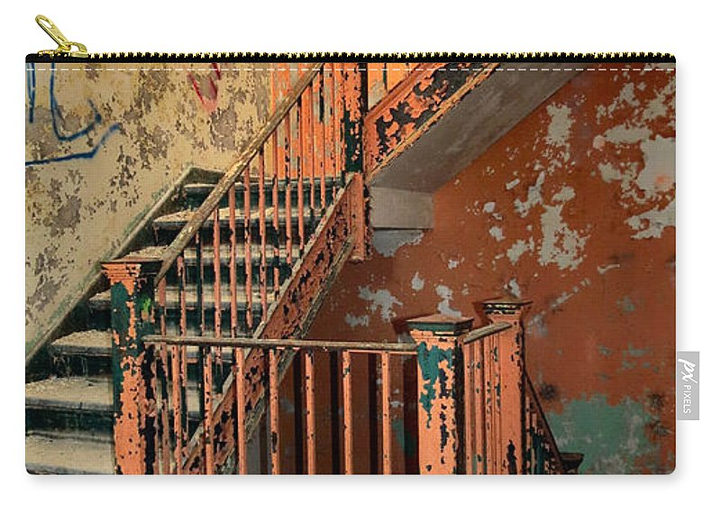 Heart Carry-all Pouch featuring the photograph Stairway To Heaven by Art Dingo