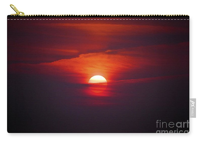 Sun Carry-all Pouch featuring the photograph Stairway To Heaven by Terri Waters