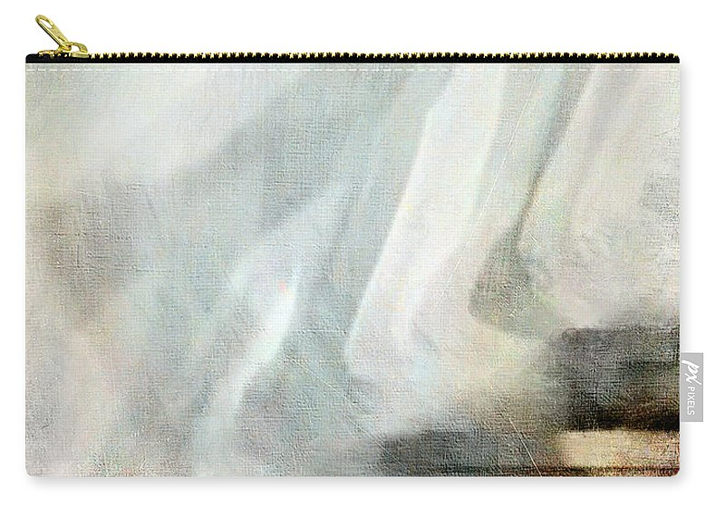 Shadow Carry-all Pouch featuring the digital art Left Behind by Jennie Breeze