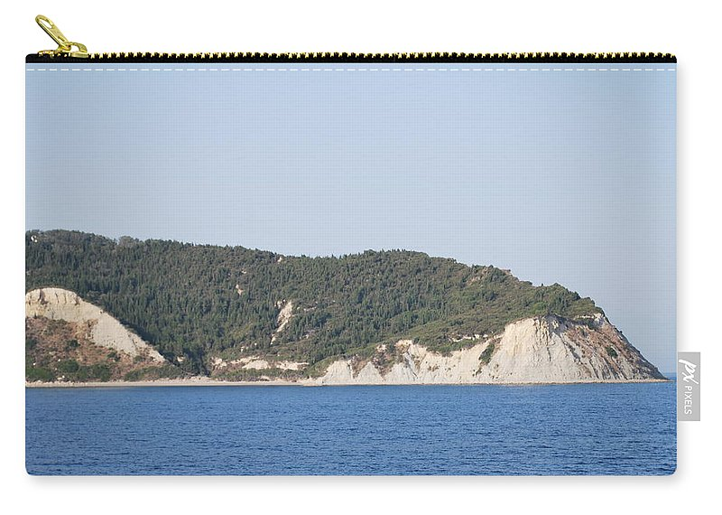 Carry-all Pouch featuring the photograph Stamoleka 3 by George Katechis