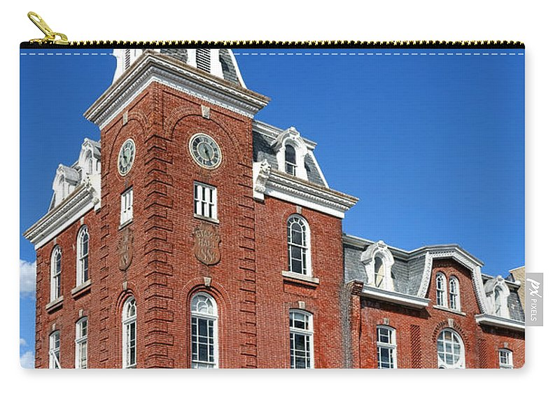Stam's Carry-all Pouch featuring the photograph Stam's Hall by Olivier Le Queinec