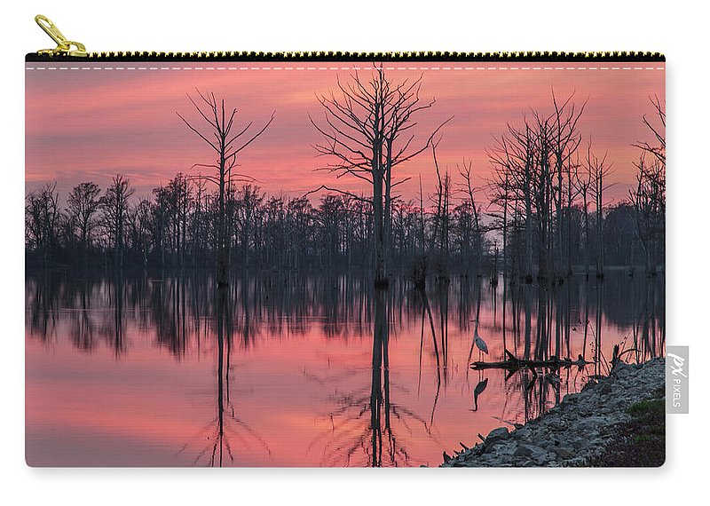 Outdoors Carry-all Pouch featuring the photograph Standing Guard by Larrybraunphotography.com