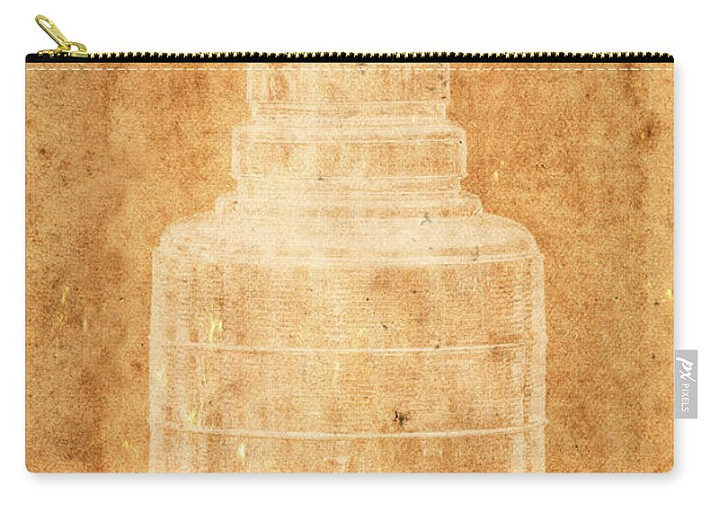 Hockey Carry-all Pouch featuring the photograph Stanley Cup 1a by Andrew Fare