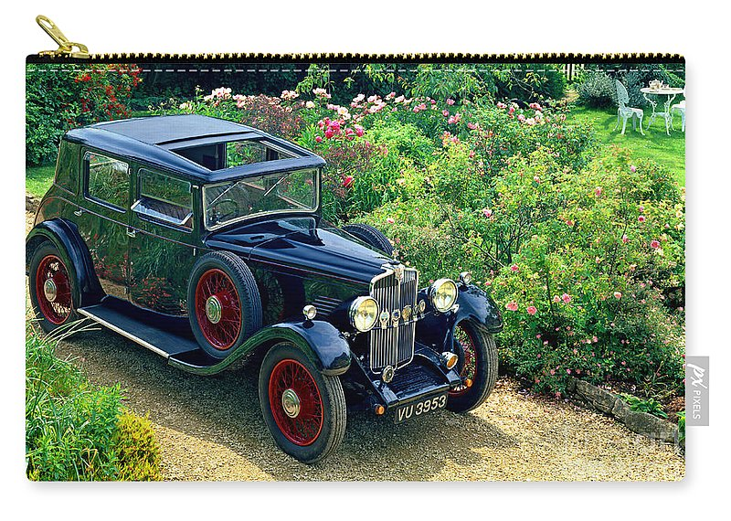 Star Carry-all Pouch featuring the photograph Star Comet-21 Saloon by Edmund Nagele