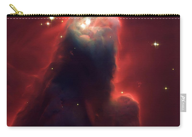 Nebula Carry-all Pouch featuring the photograph Star Former Cone Nebula by Jennifer Rondinelli Reilly - Fine Art Photography