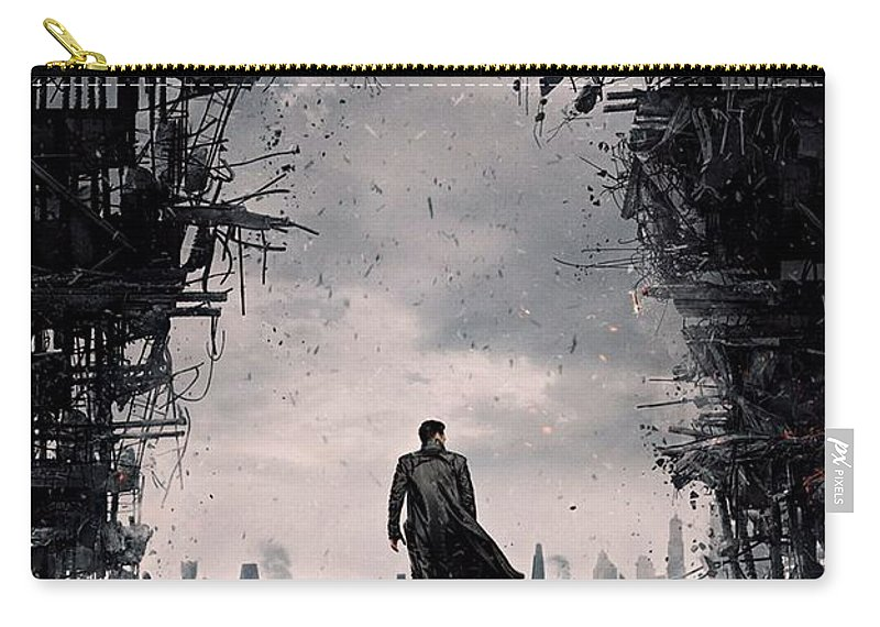 Star Trek Carry-all Pouch featuring the photograph Star Trek Into Darkness by Movie Poster Prints