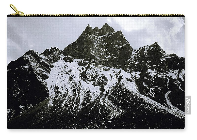 Dramatic Landscape Carry-all Pouch featuring the photograph Stark Himalayas by Shaun Higson
