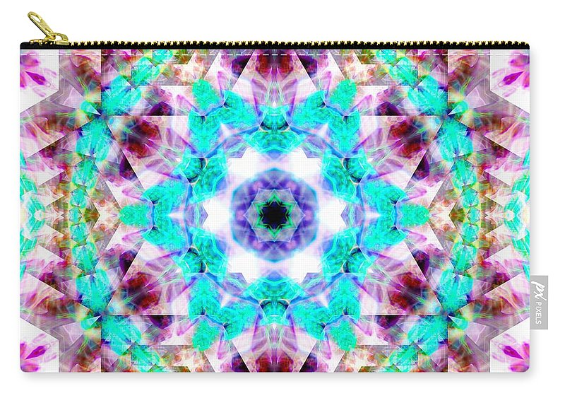 Sacredlife Mandalas Carry-all Pouch featuring the photograph Starlight Window by Derek Gedney