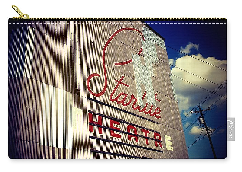 Architecture Carry-all Pouch featuring the photograph Starlite by Trish Mistric
