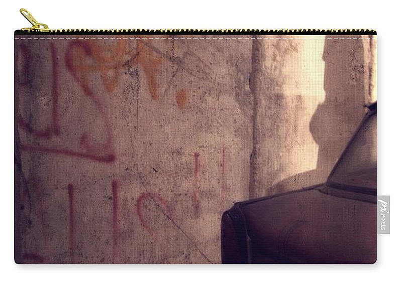 Start A Revolution Carry-all Pouch featuring the photograph Start A Revolution by Dan Sproul
