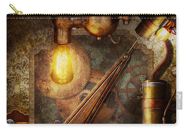 Steampunk - Victorian fuse box Carry-all Pouch for Sale by Mike SavadPixels