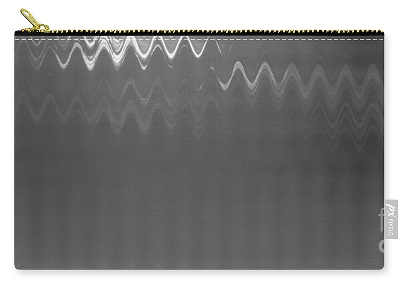 Monochrome Carry-all Pouch featuring the photograph Steel by Anita Lewis