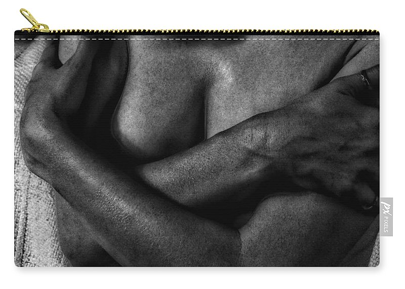Woman Carry-all Pouch featuring the photograph Steel Magnolia by Donna Blackhall