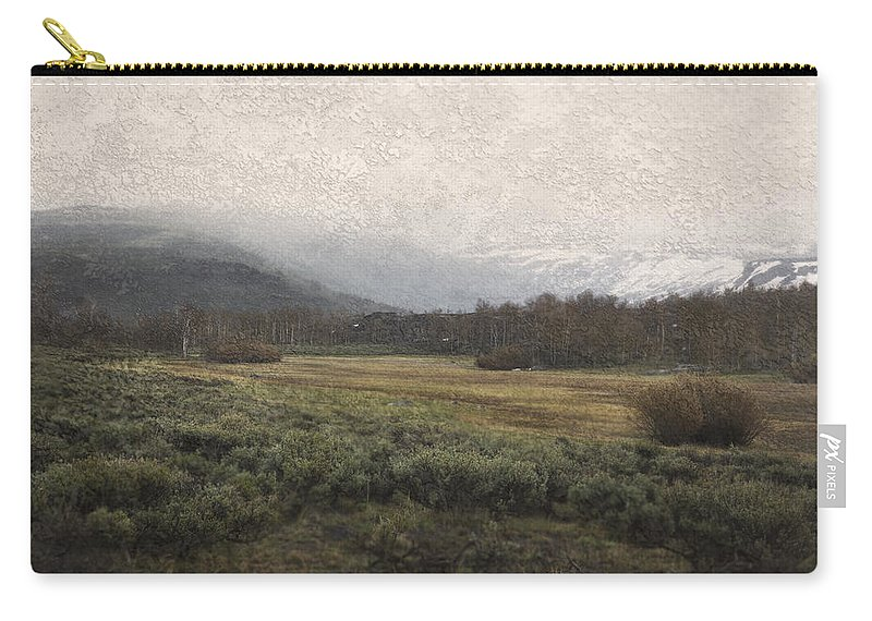 Landscape Carry-all Pouch featuring the photograph Steens Mountain Landscape - No. 2 by Belinda Greb