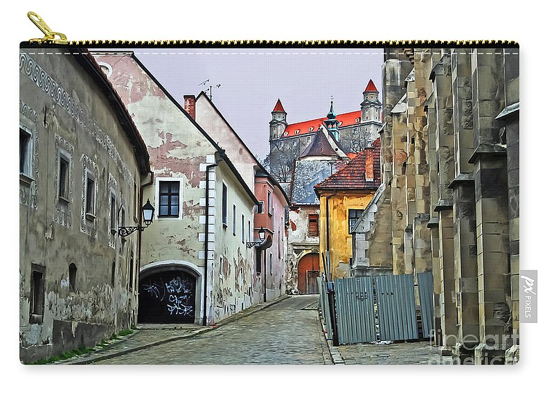 Travel Carry-all Pouch featuring the photograph Step In Time by Elvis Vaughn