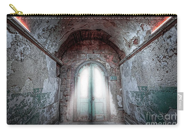 Pa Carry-all Pouch featuring the photograph Step Into The Light by Michael Ver Sprill