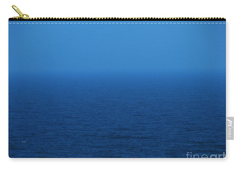 Blue Carry-all Pouch featuring the photograph Stepping Into A Dream by Amanda Barcon