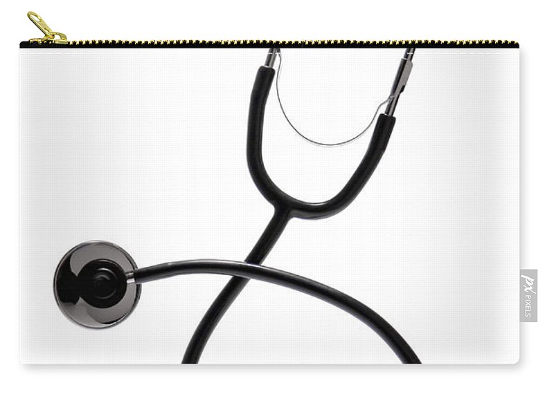 Stethoscope Carry-all Pouch featuring the photograph Stethoscope by Olivier Le Queinec