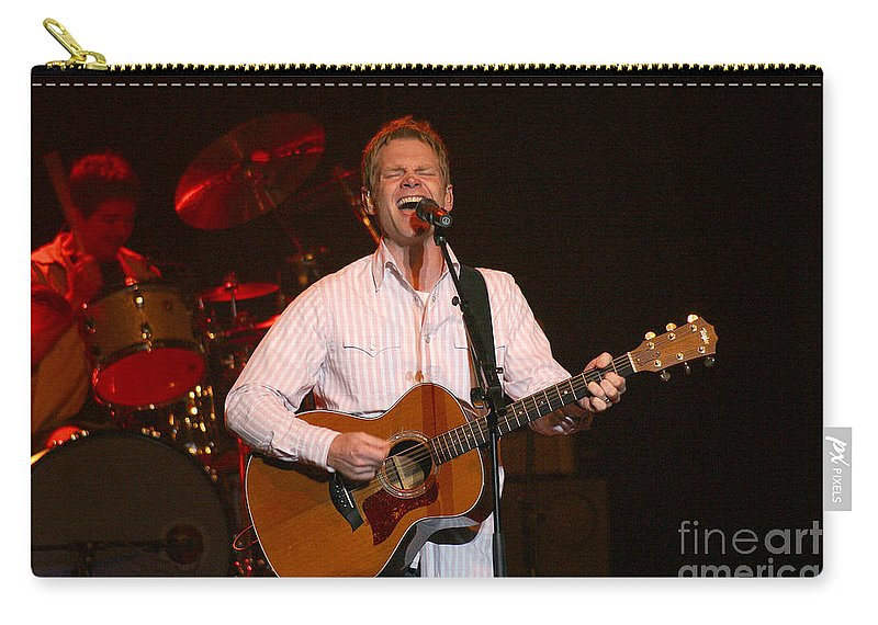 Steven Curtis Chapman Carry-all Pouch featuring the photograph Steven Curtis Chapman 8304 by Gary Gingrich Galleries