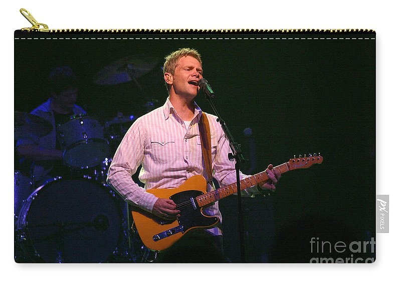 Steven Curtis Chapman Carry-all Pouch featuring the photograph Steven Curtis Chapman 8431 by Gary Gingrich Galleries