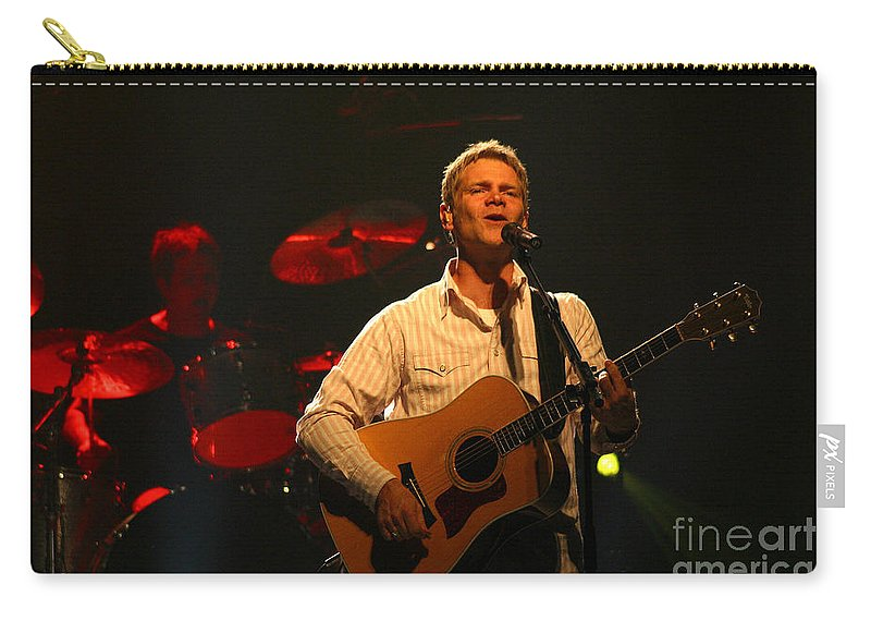 Steven Curtis Chapman Carry-all Pouch featuring the photograph Steven Curtis Chapman 8537 by Gary Gingrich Galleries