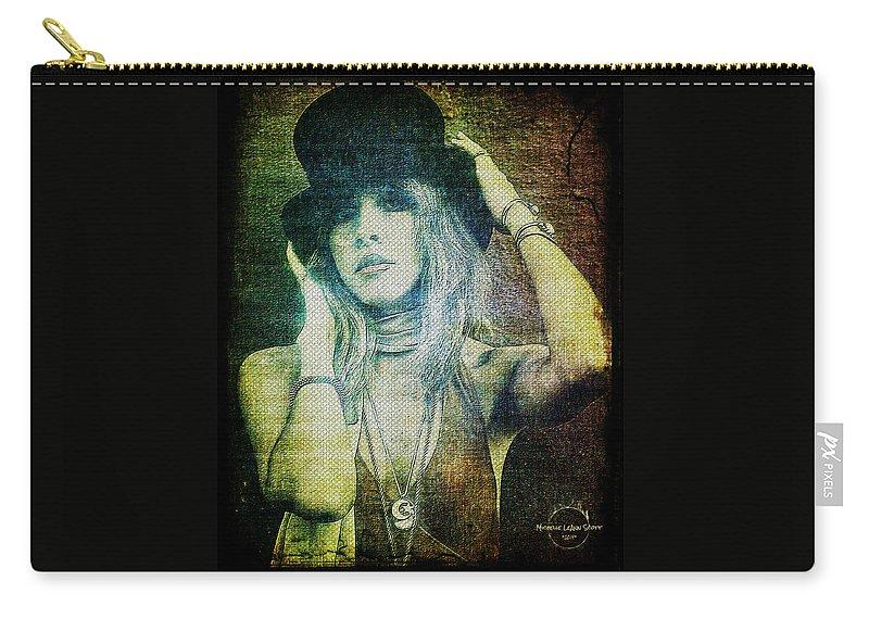 b0bfc5de1 Stevie Nicks Carry-all Pouch featuring the digital art Stevie Nicks -  Bohemian by Absinthe