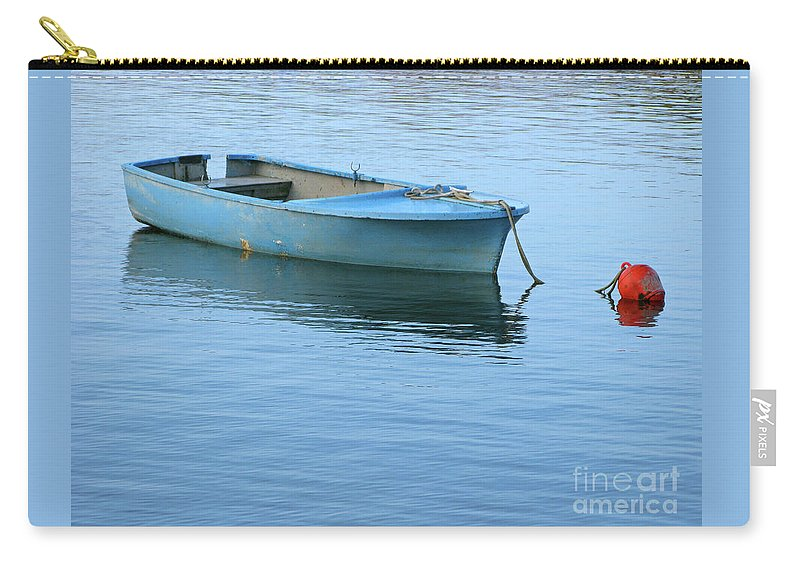 Rowboat Carry-all Pouch featuring the photograph Still Afloat by Ann Horn