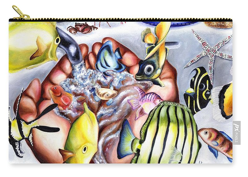 Dream Carry-all Pouch featuring the painting Still Drunk by Hiroko Sakai