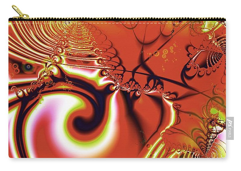 Malakhova Carry-all Pouch featuring the digital art Still Music by Anastasiya Malakhova