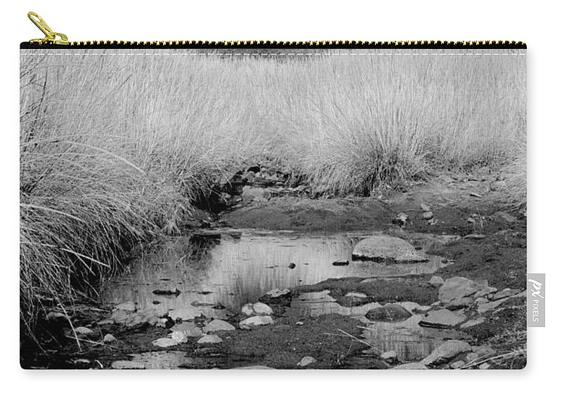 Photography Carry-all Pouch featuring the photograph Stillness Of The Day by Vicki Pelham