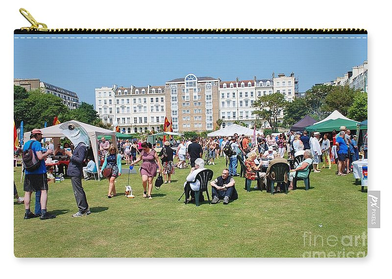 Entertainment Carry-all Pouch featuring the photograph St.leonards Festival England by David Fowler