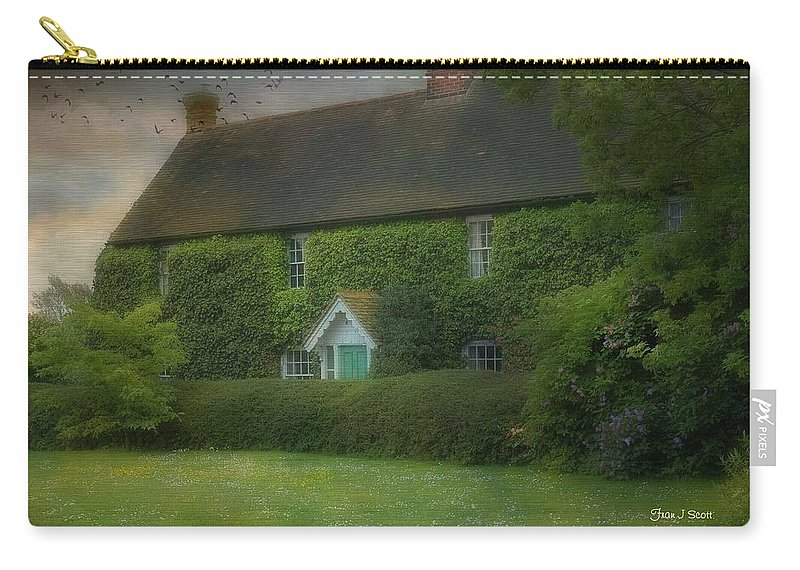 House Carry-all Pouch featuring the photograph Stodmarsh House by Fran J Scott