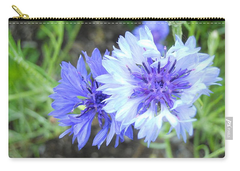 Flowers Carry-all Pouch featuring the photograph Stokia by Coleen Harty