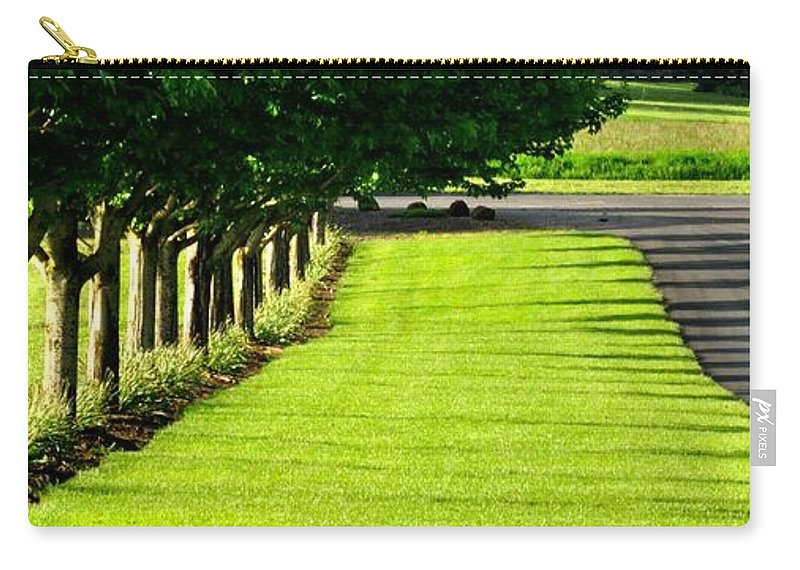 Willamette Carry-all Pouch featuring the photograph Stoller Drive 24010 by Jerry Sodorff