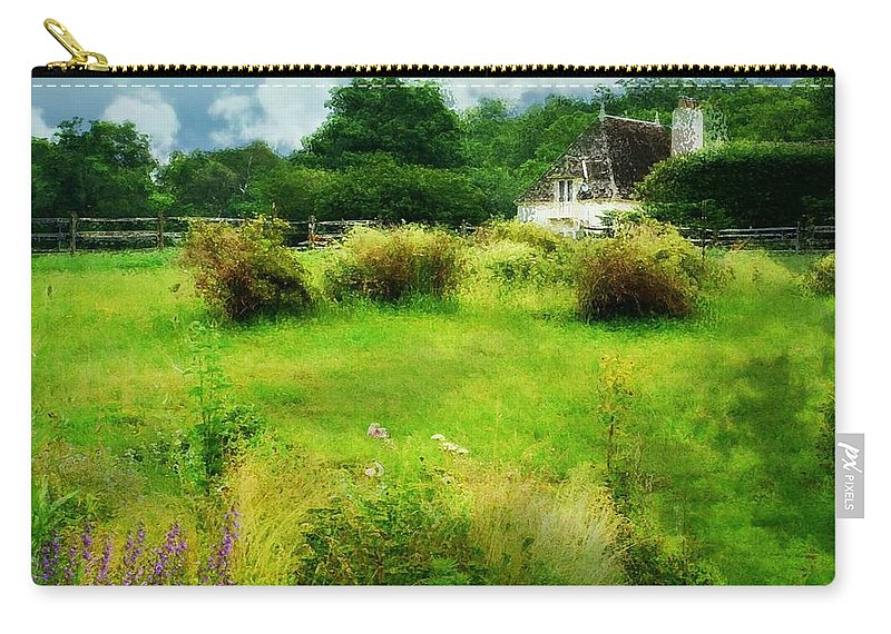 Garden Carry-all Pouch featuring the photograph Stone Crop Garden by Diana Angstadt