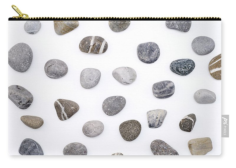 Stone Carry-all Pouch featuring the photograph Stones by Chevy Fleet