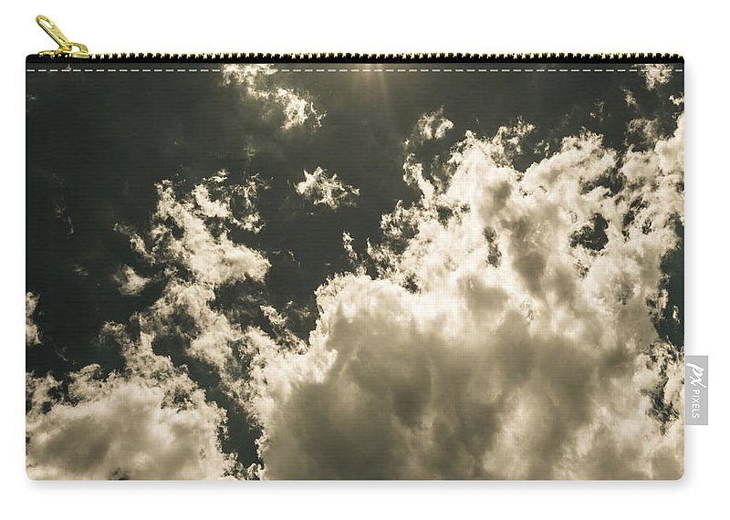 Sky Carry-all Pouch featuring the photograph Storm Clouds Gathering by Jorgo Photography - Wall Art Gallery