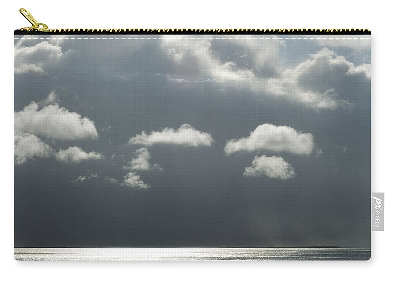 Stormy Carry-all Pouch featuring the photograph Storm Is Coming by Yulia Kazansky