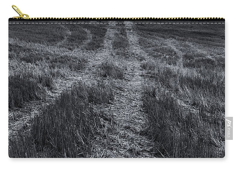 Tracks Carry-all Pouch featuring the photograph Storm Tracks by Mike Dawson