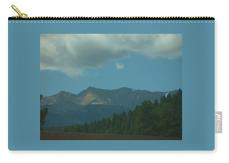 Lyle Carry-all Pouch featuring the painting Storms Coming by Lord Frederick Lyle Morris - Disabled Veteran